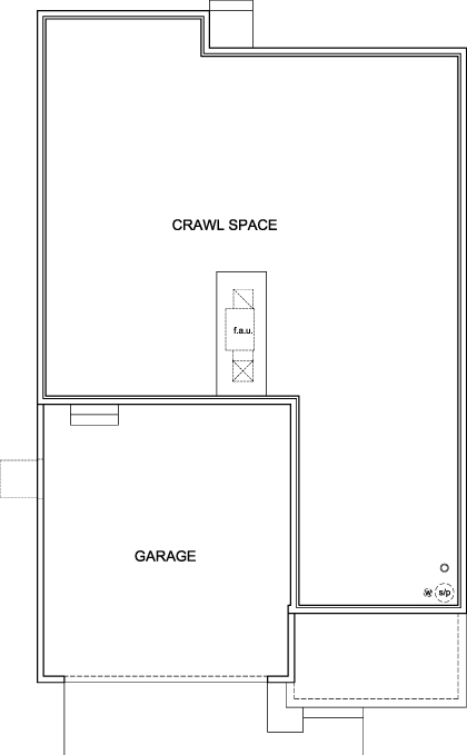 New Homes in Aurora, CO - The Serendipity, Crawl Space