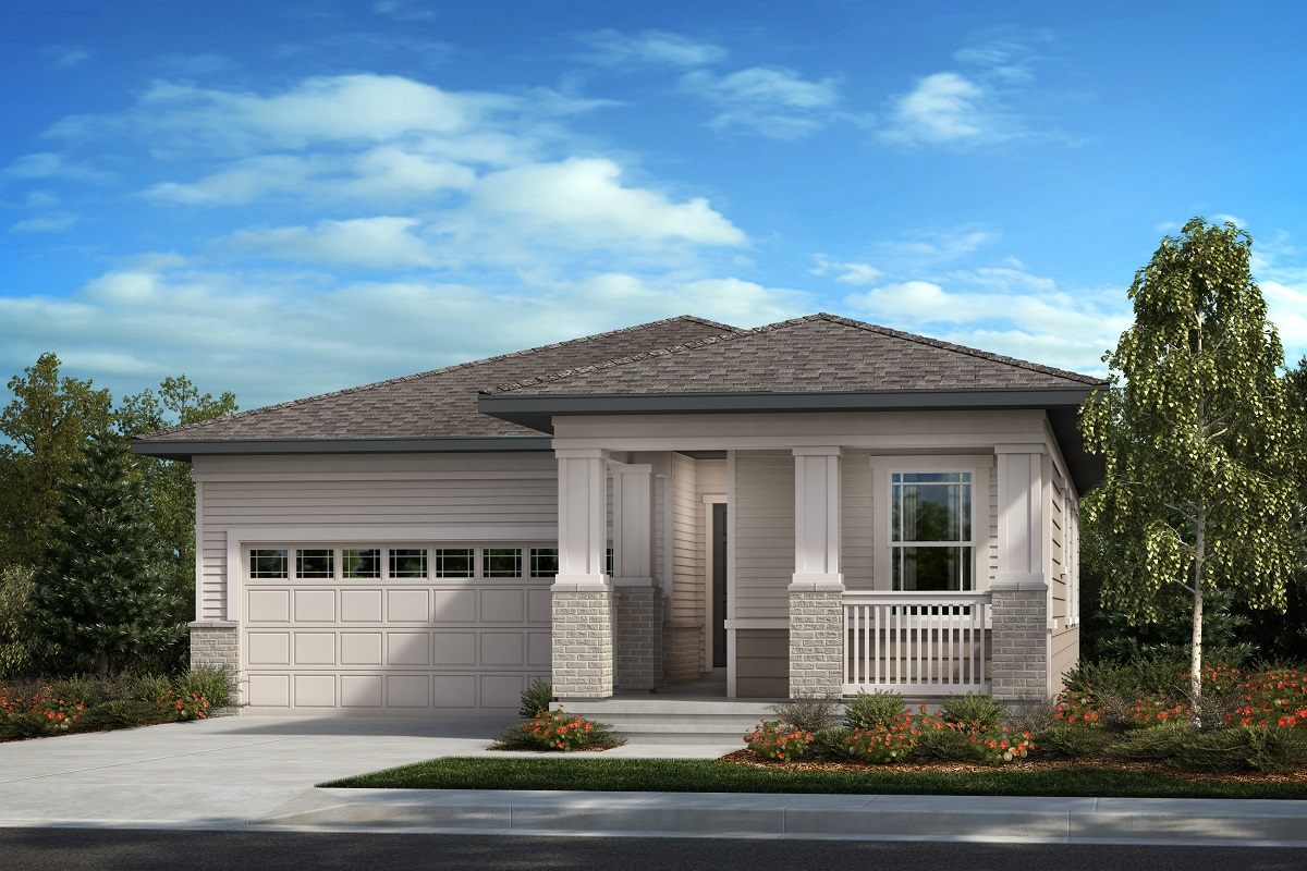 New Homes in Aurora, CO - Plan 1382 Elevation C