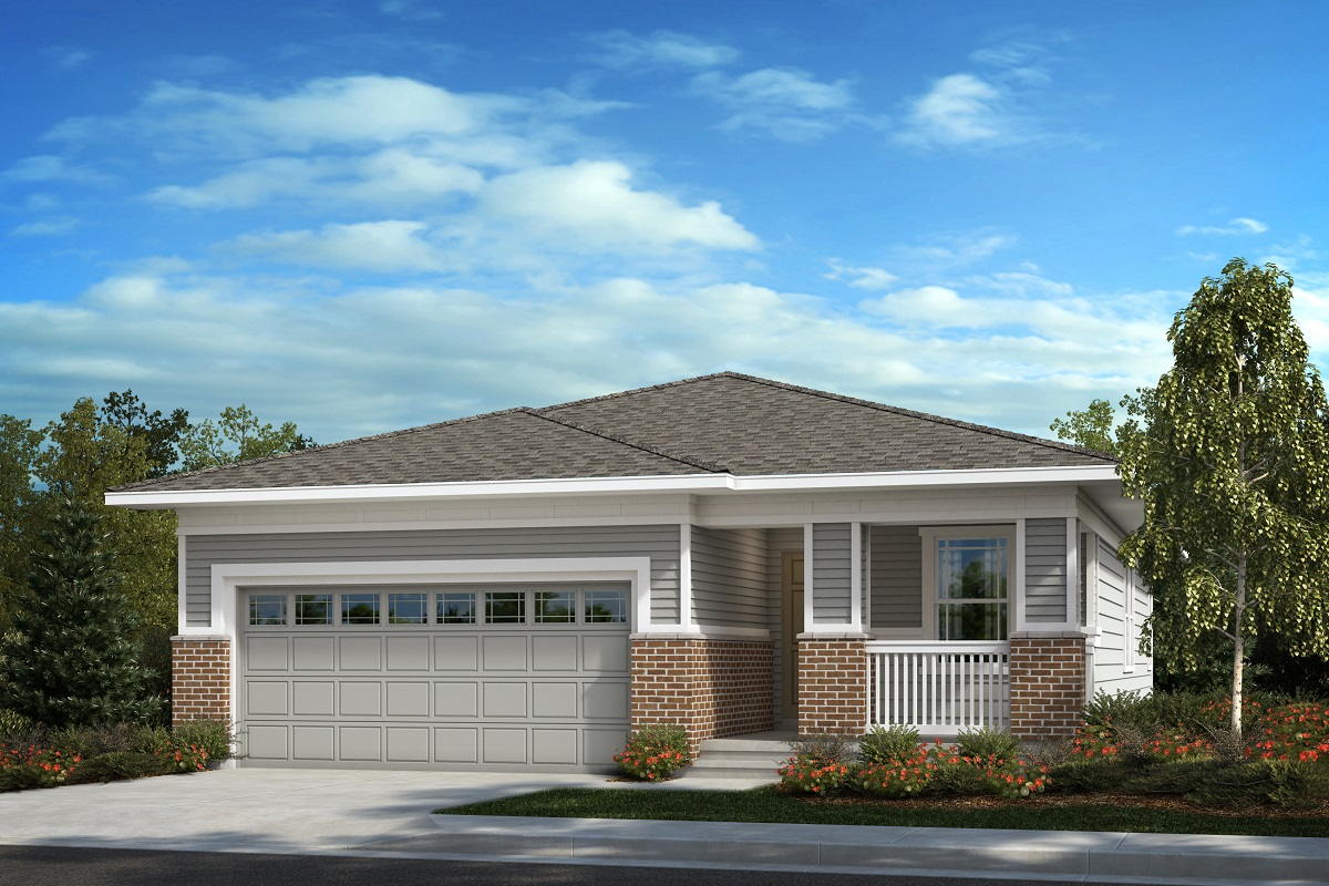 New Homes in Aurora, CO - Painted Prairie The Aspire - Elevation C