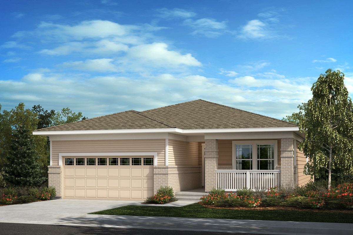 New Homes in Aurora, CO - Painted Prairie Plan 1821 Elevation C