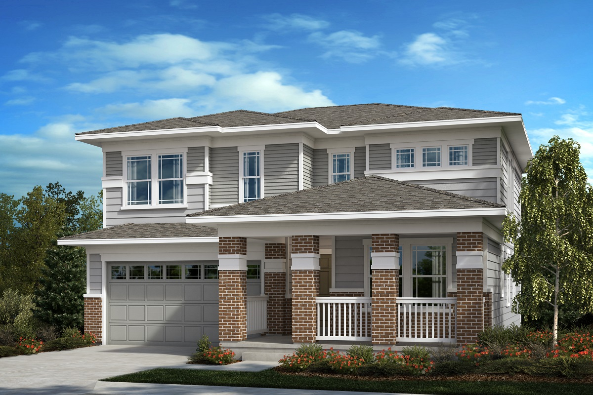 New Homes in Aurora, CO - Painted Prairie The Lafayette - Elevation C