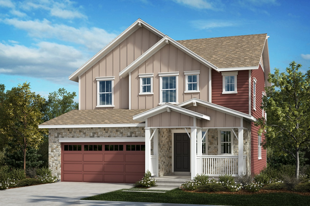 New Homes in Aurora, CO - Painted Prairie Plan 2583 Elevation A