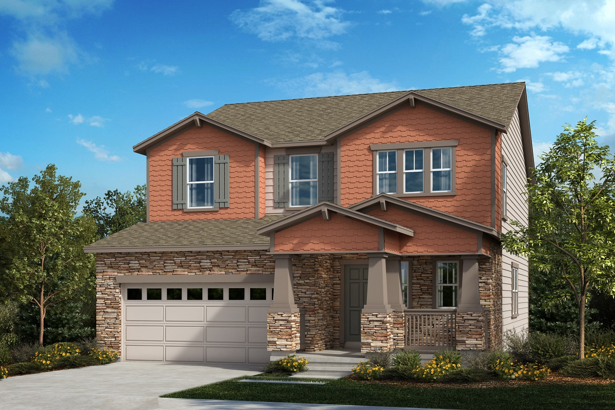 New Homes in Aurora, CO - The Serendipity - Elevation B