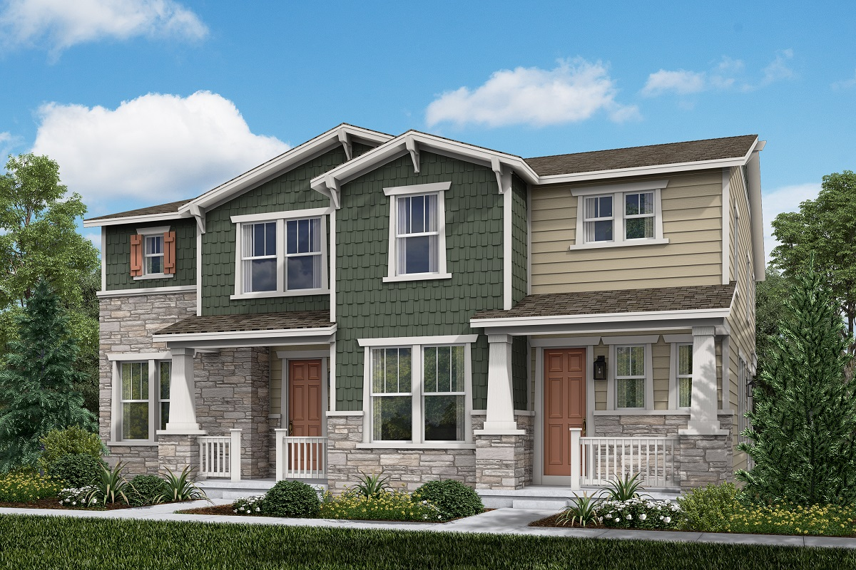 New Homes in Aurora, CO - Plan 1430 & Plan 1885 - Craftsman