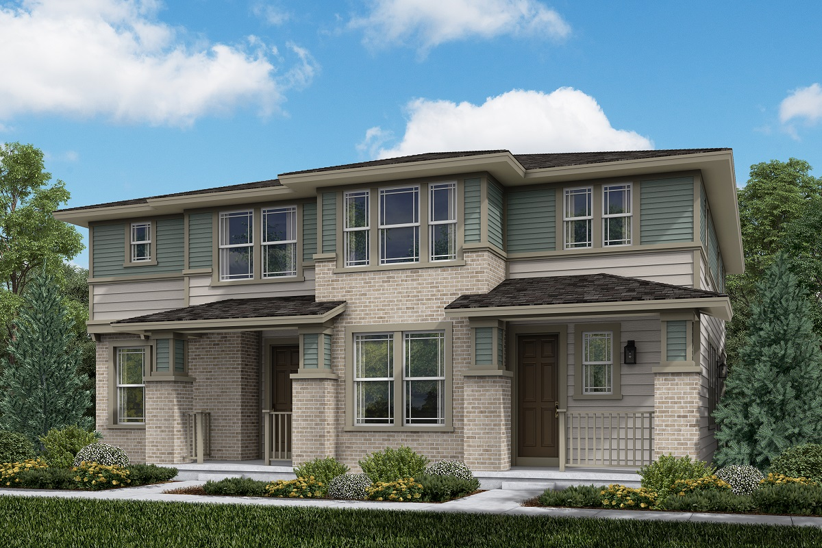 New Homes in Aurora, CO - Plan 1430 & Plan 1885 - Prairie