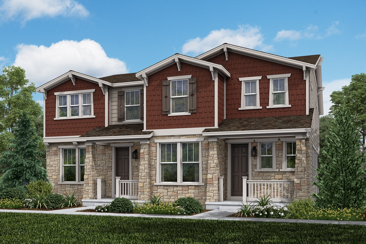 New Homes in Aurora, CO - Plan 1885 and Plan 1671 Elevation A