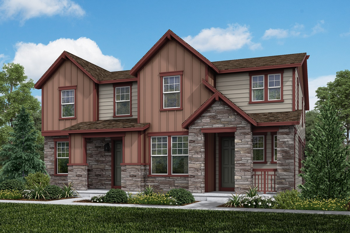 New Homes in Aurora, CO - Plan 1885 and Plan 1671 Elevation B