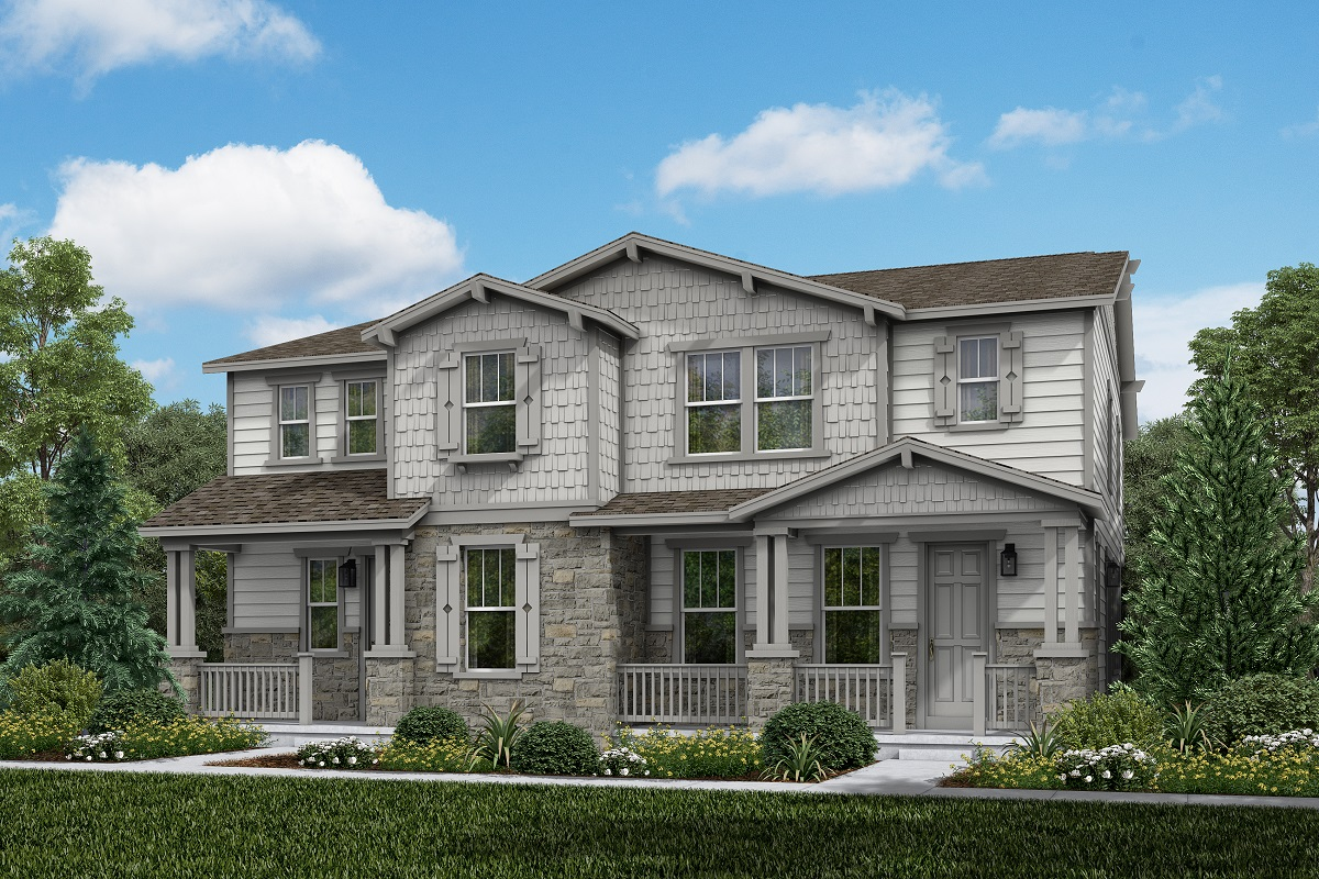 New Homes in Aurora, CO - Plan 1885 and Plan 1754 Craftsman Style