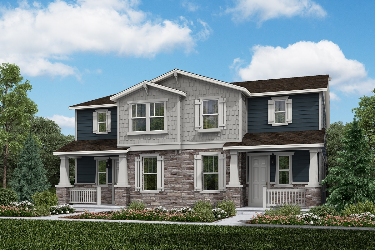 New Homes in Aurora, CO - Plan 1885 & Plan 1885 Elevation A