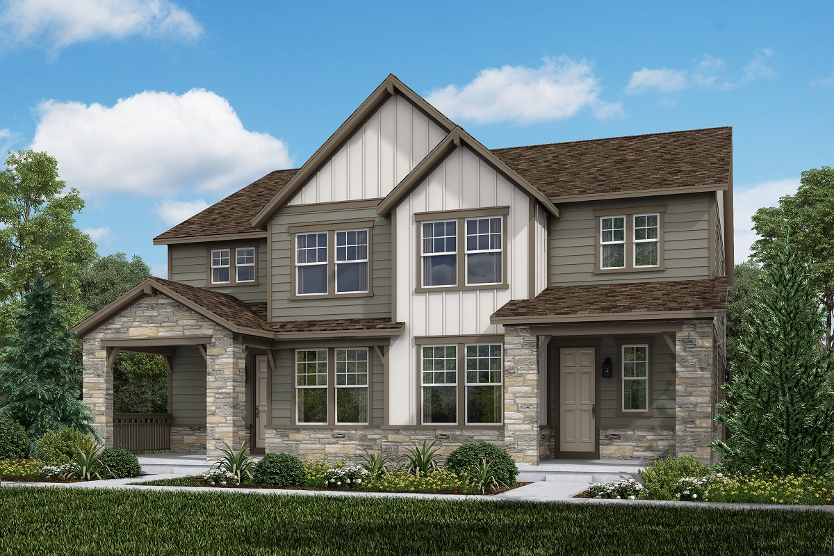 New Homes in Aurora, CO - Plan 1885 & Plan 1885 Elevation B