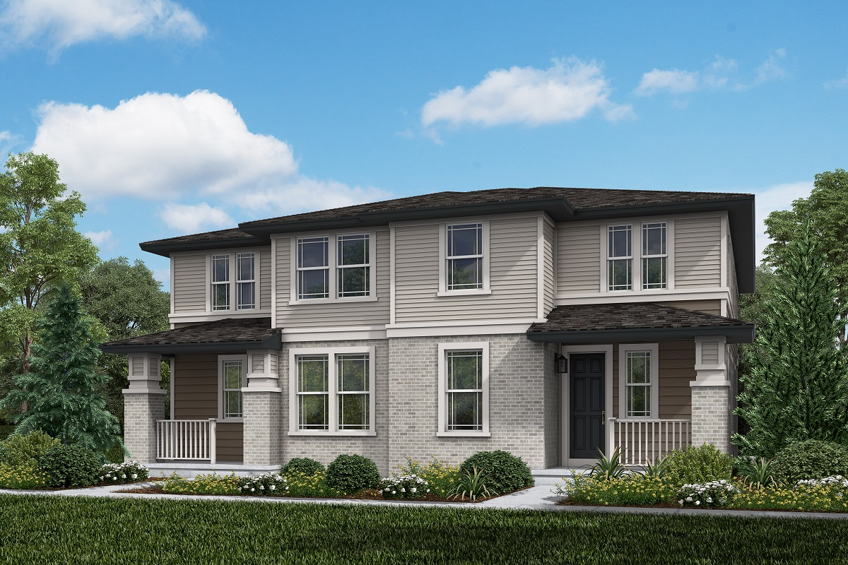 New Homes in Aurora, CO - Plan 1885 & Plan 1885 Elevation C