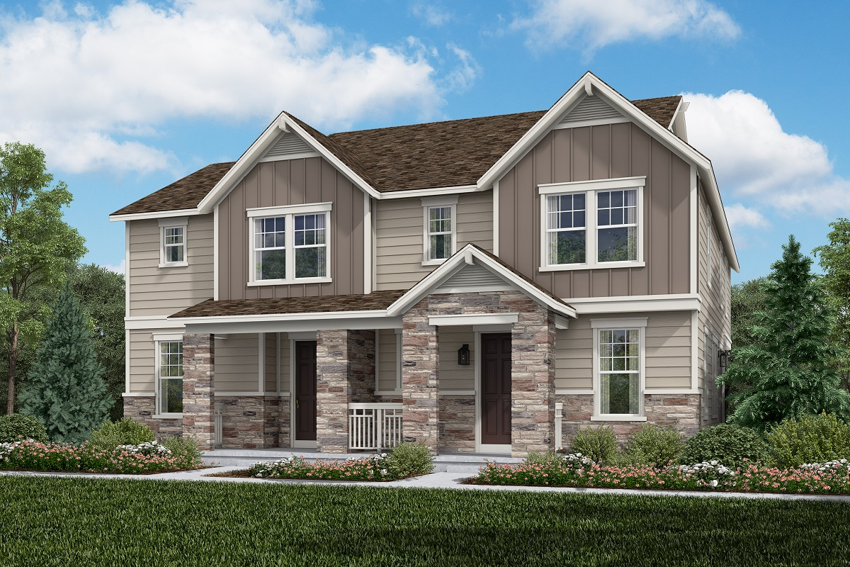 New Homes in Aurora, CO - Plan 1430 & Plan 1963 - Farmhouse