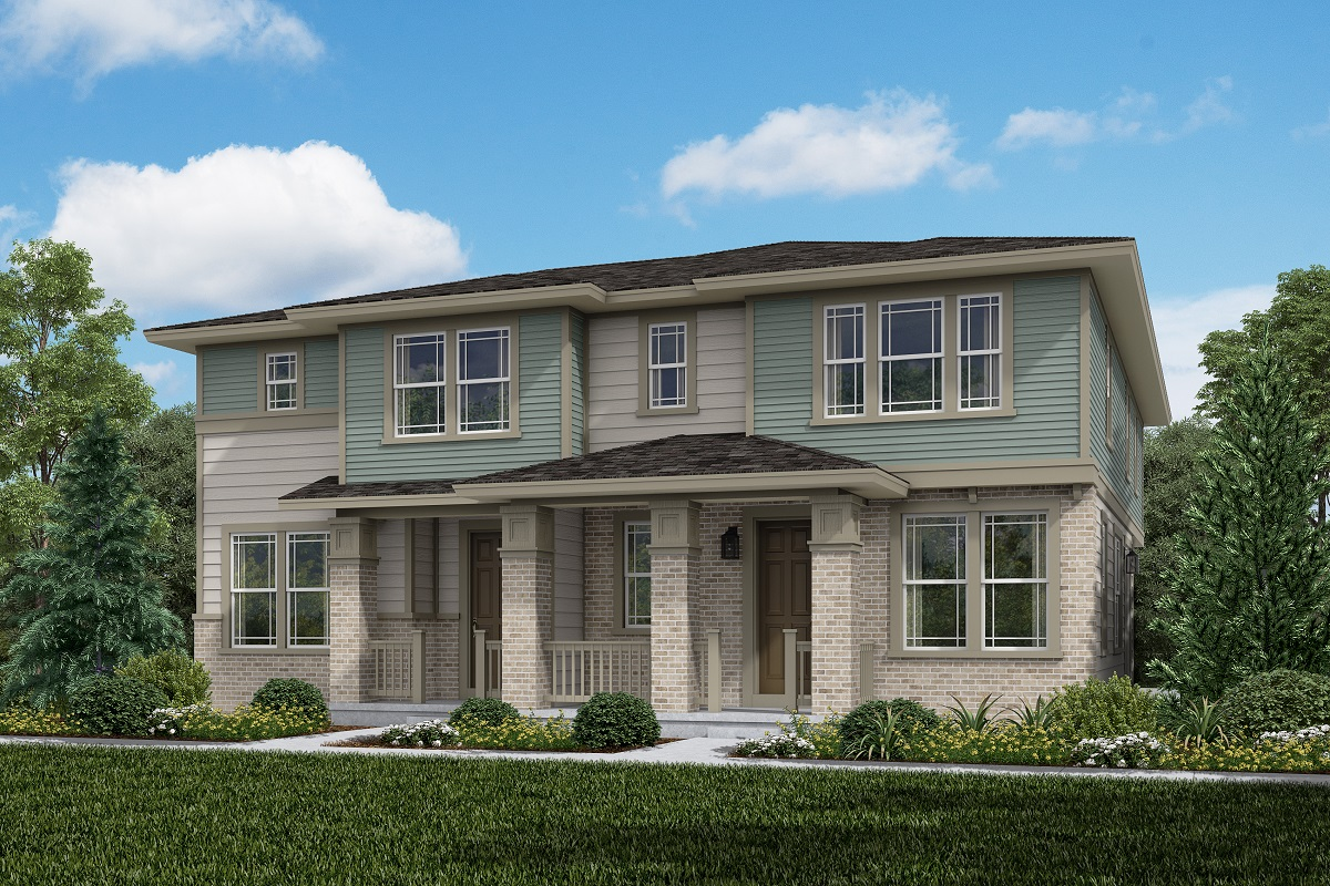 New Homes in Aurora, CO - Plan 1430 & Plan 1963 - Prairie