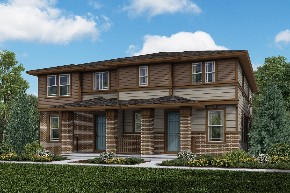 New Homes in Aurora, CO - Plan 1963 and Plan 1671 Elevation C