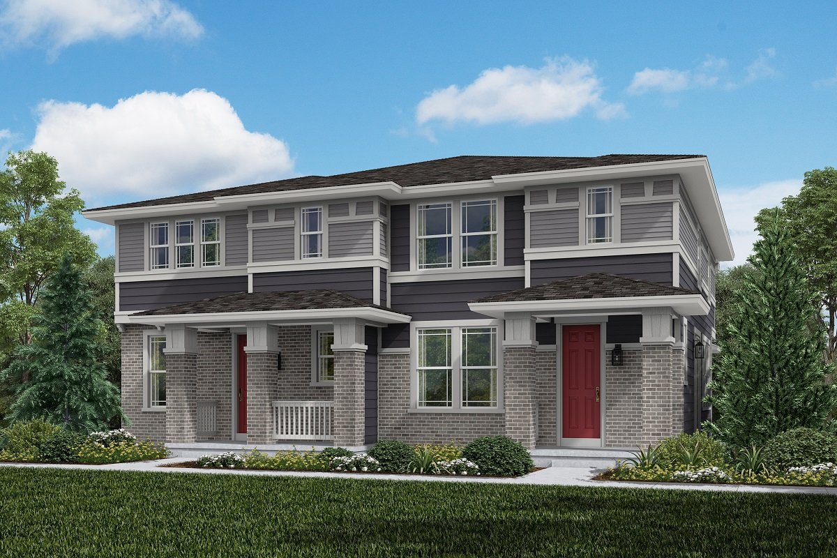 New Homes in Aurora, CO - Plan 1963 and Plan 1754