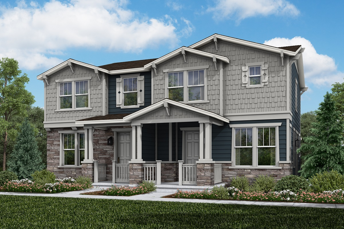 New Homes in Aurora, CO - Plan 1671 & Plan 1430 - Craftsman