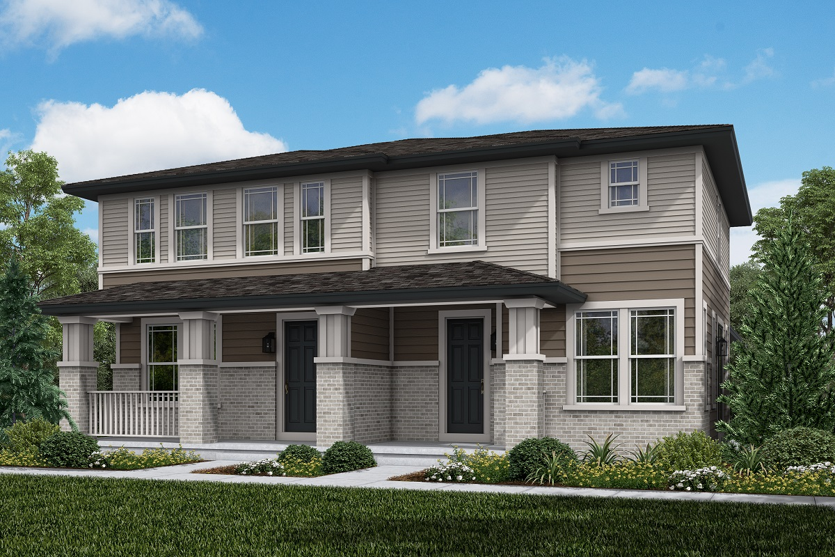 New Homes in Aurora, CO - Plan 1671 & Plan 1430 - Prairie