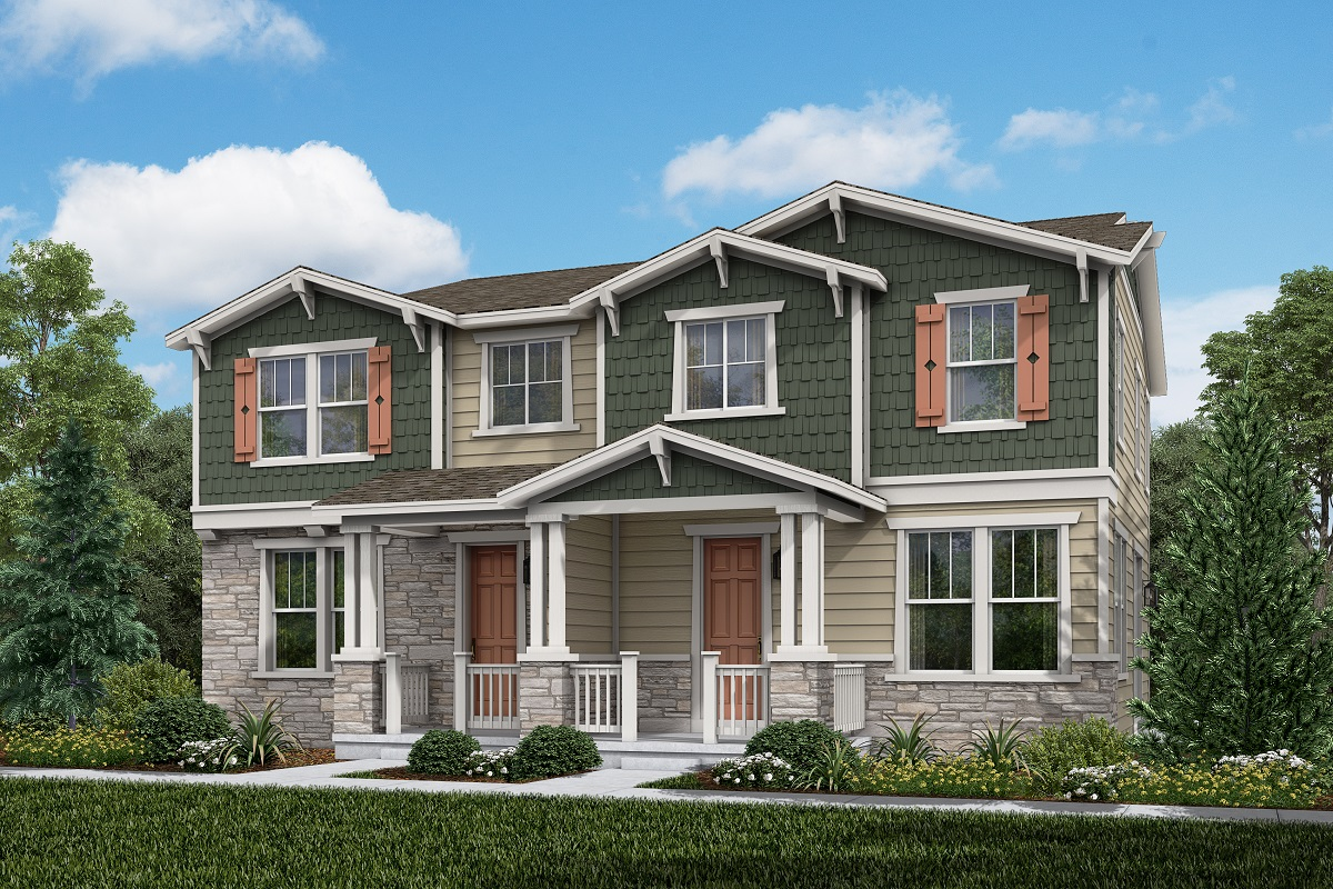 New Homes in Aurora, CO - Plan 1671 and Plan 1671 Elevation A