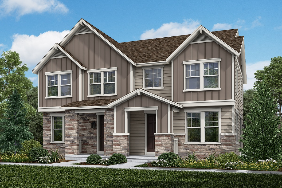 New Homes in Aurora, CO - Plan 1671 and Plan 1671 Elevation B