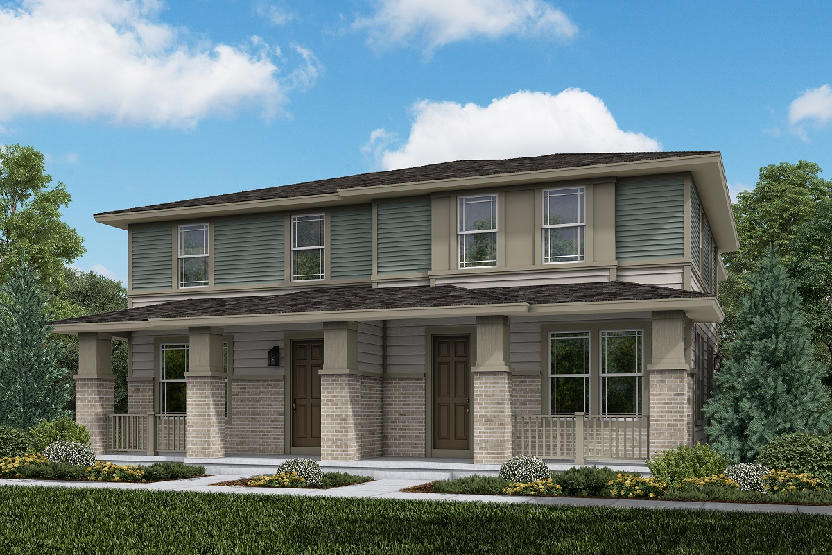 New Homes in Aurora, CO - Plan 1671 and Plan 1671 Elevation C