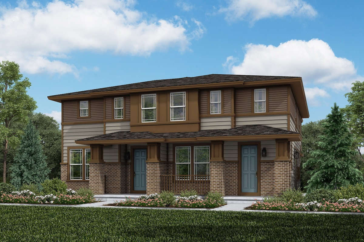 New Homes in Aurora, CO - Plan 1430 & Plan 1754 - Prairie