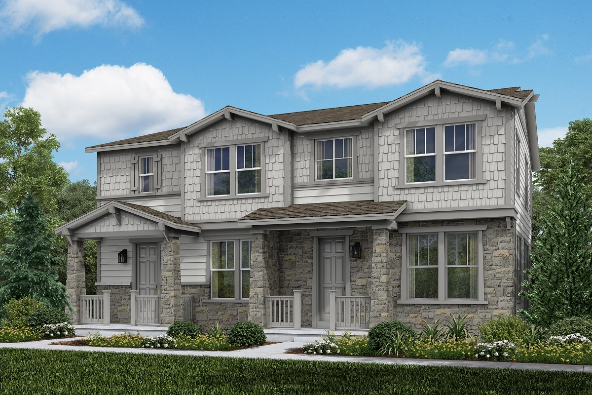 New Homes in Aurora, CO - Plan 1754 and Plan 1671 Craftsman Style