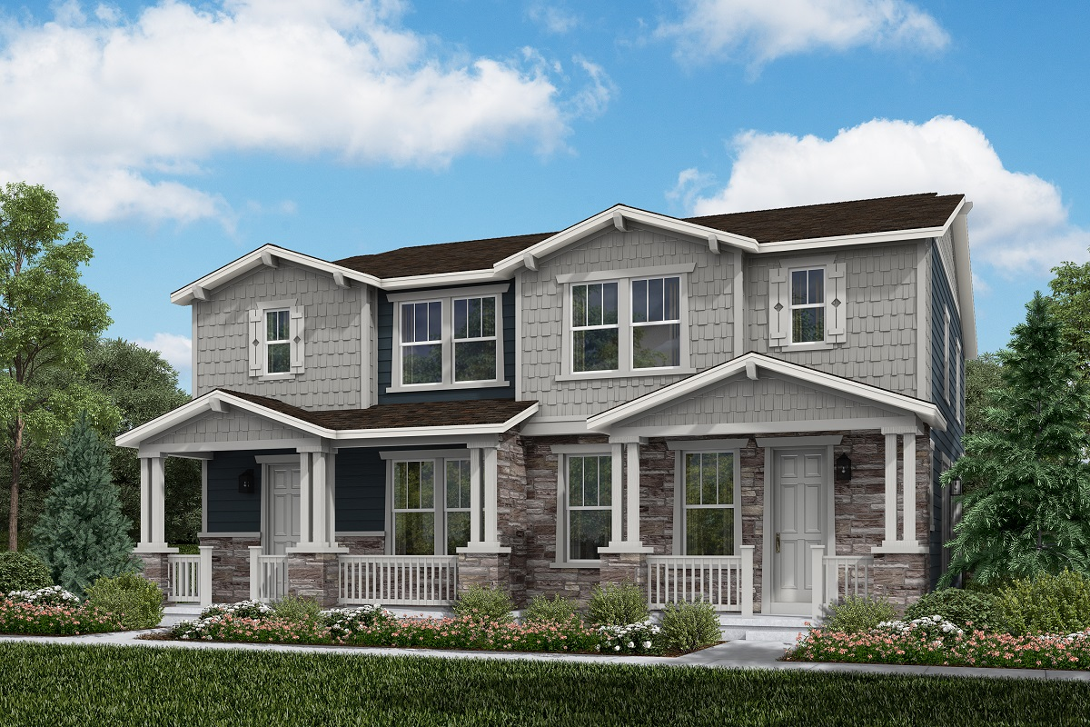 New Homes in Aurora, CO - Plan 1754 and Plan 1754 Craftsman Style