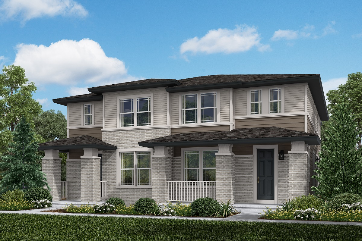 New Homes in Aurora, CO - Plan 1754 and Plan 1754 Prairie Style