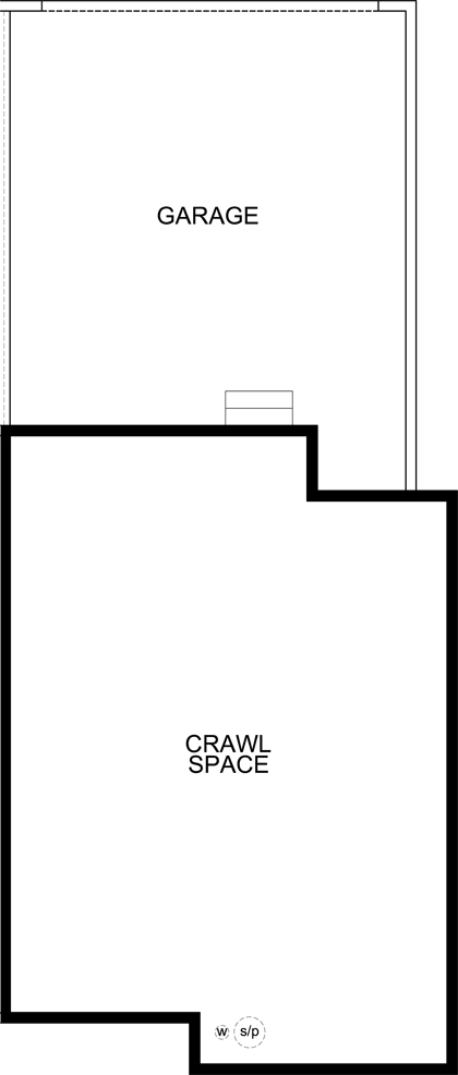 New Homes in Aurora, CO - Plan 1430 Modeled, Crawl Space