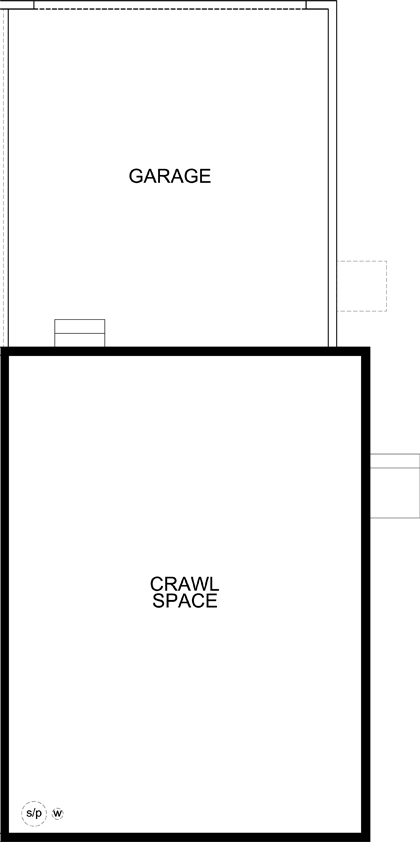 New Homes in Aurora, CO - Plan 1671 Modeled, Crawl Space