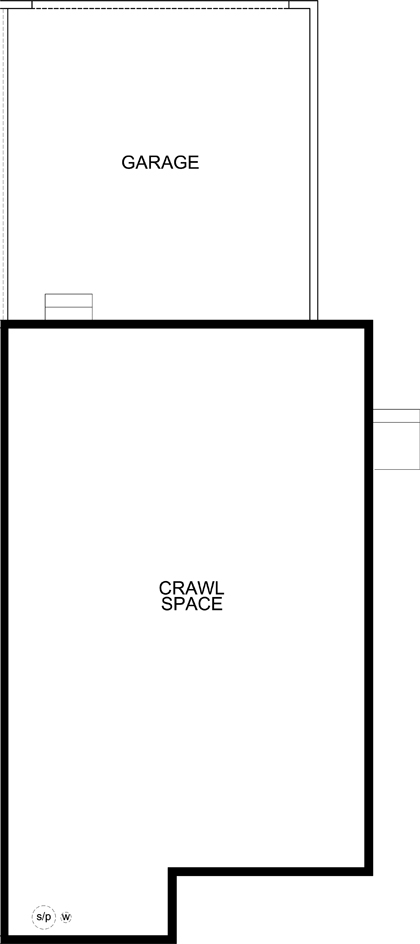 New Homes in Aurora, CO - Plan 1885, Crawl Space