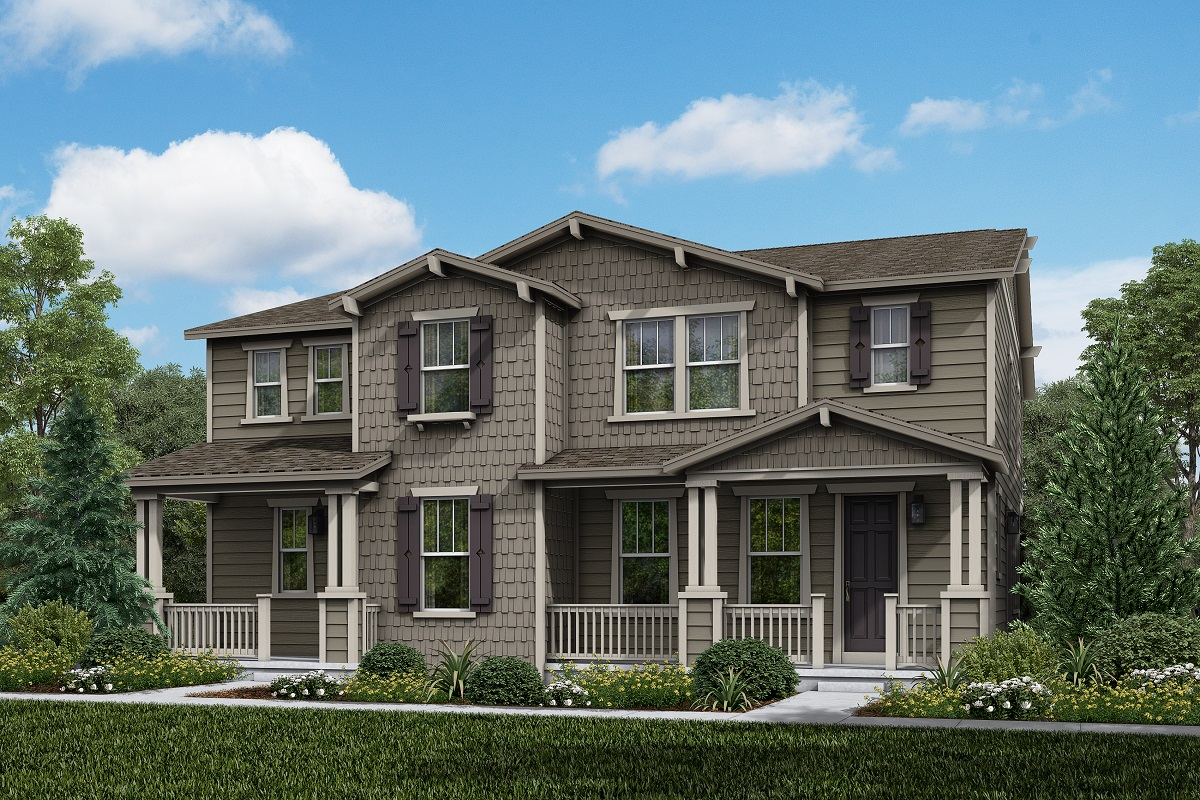 New Homes in Longmont, CO - Plan 1885 & Plan 1754 Elevation 12A