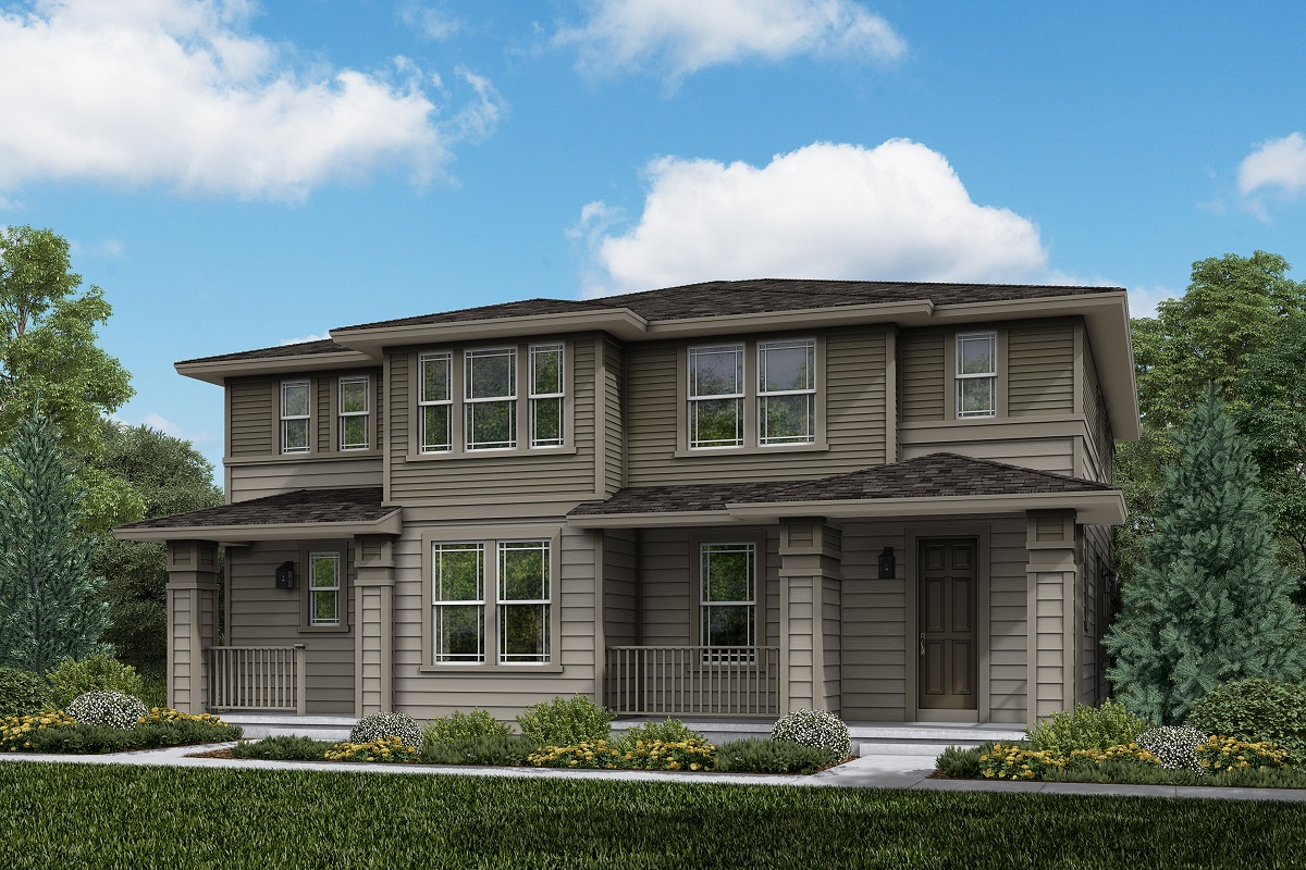 New Homes in Longmont, CO - Plan 1885 & Plan 1754 Elevation 12C