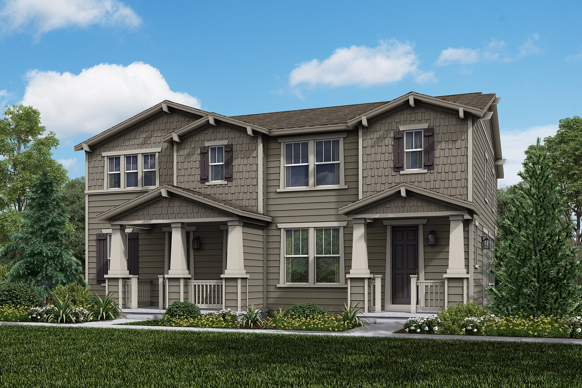New Homes in Longmont, CO - Plan 1963 & Plan 1754 Elevation 16A