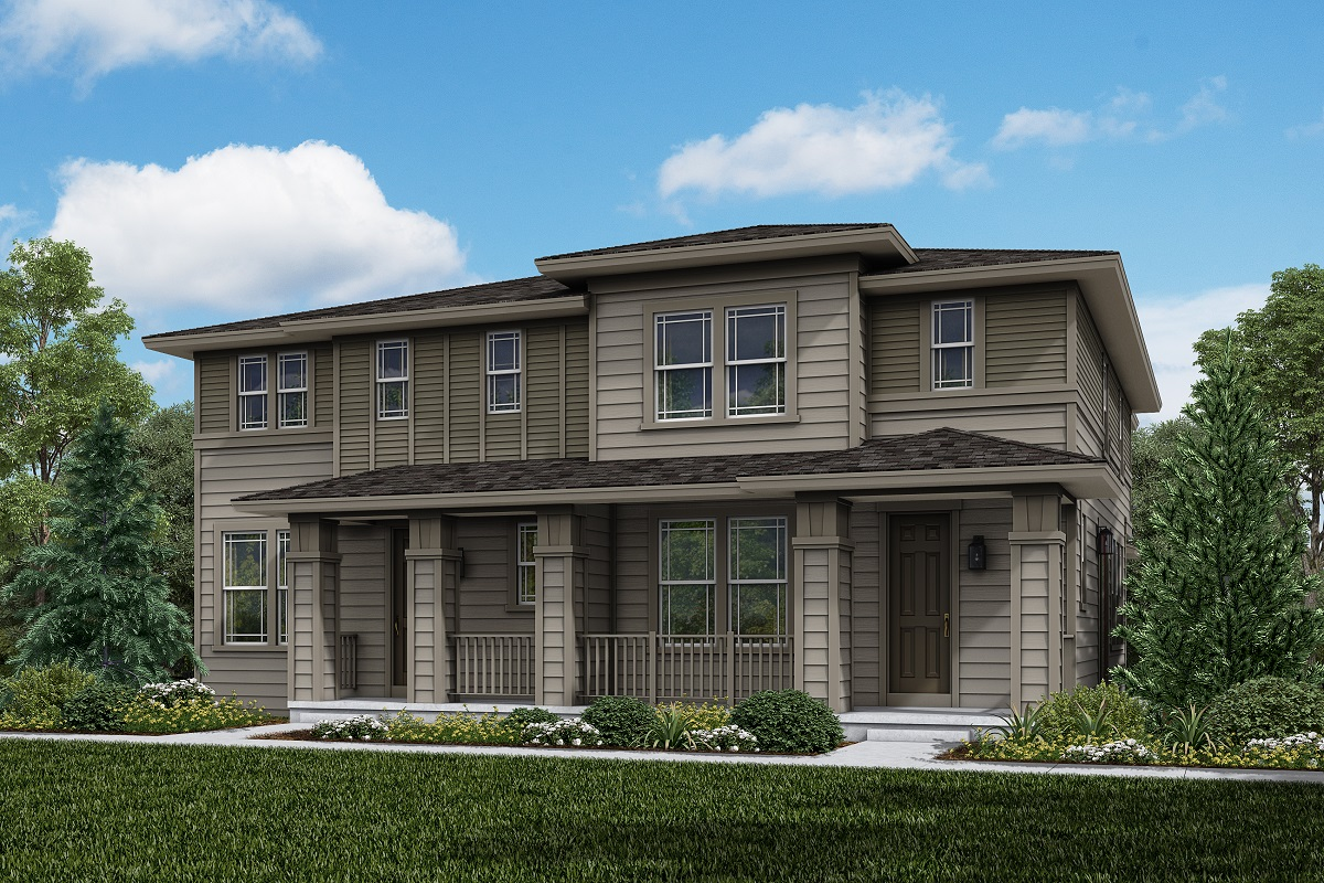 New Homes in Longmont, CO - Plan 1963 & Plan 1754 Elevation 16C