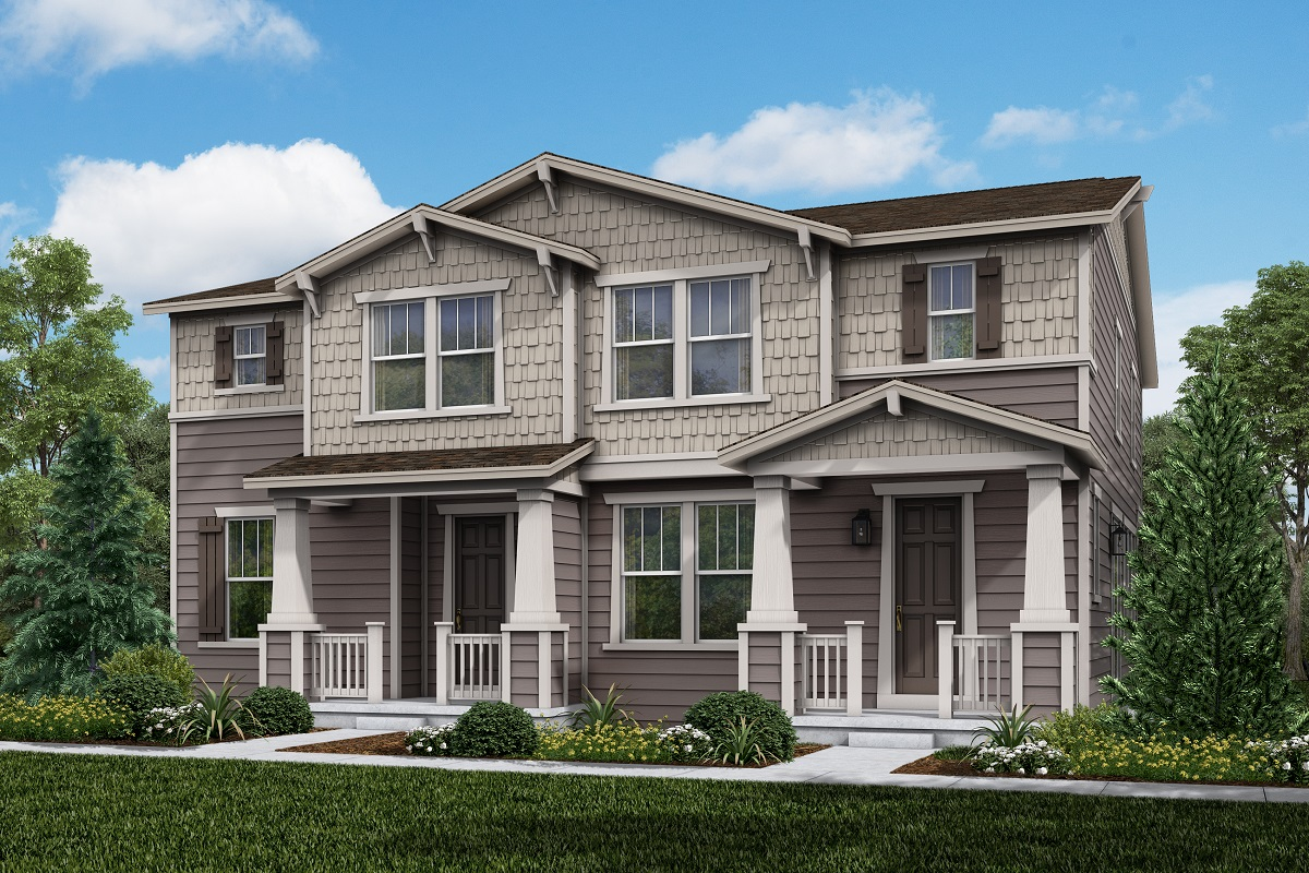 New Homes in Longmont, CO - Plan 1468 & Plan 1754 Elevation 3A