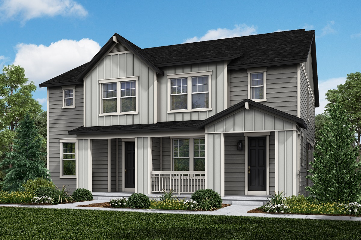 New Homes in Longmont, CO - Plan 1468 & Plan 1754 Elevation 3B