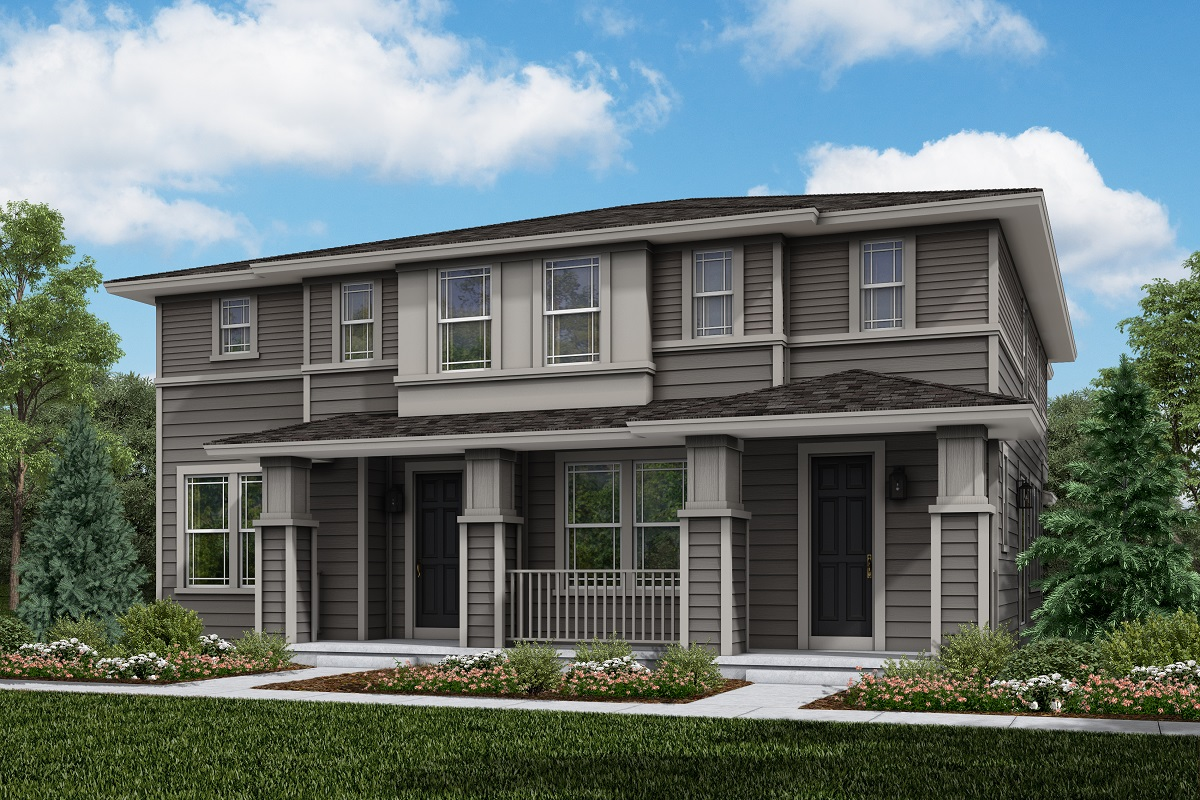 New Homes in Longmont, CO - Plan 1468 & Plan 1754 Elevation 3C