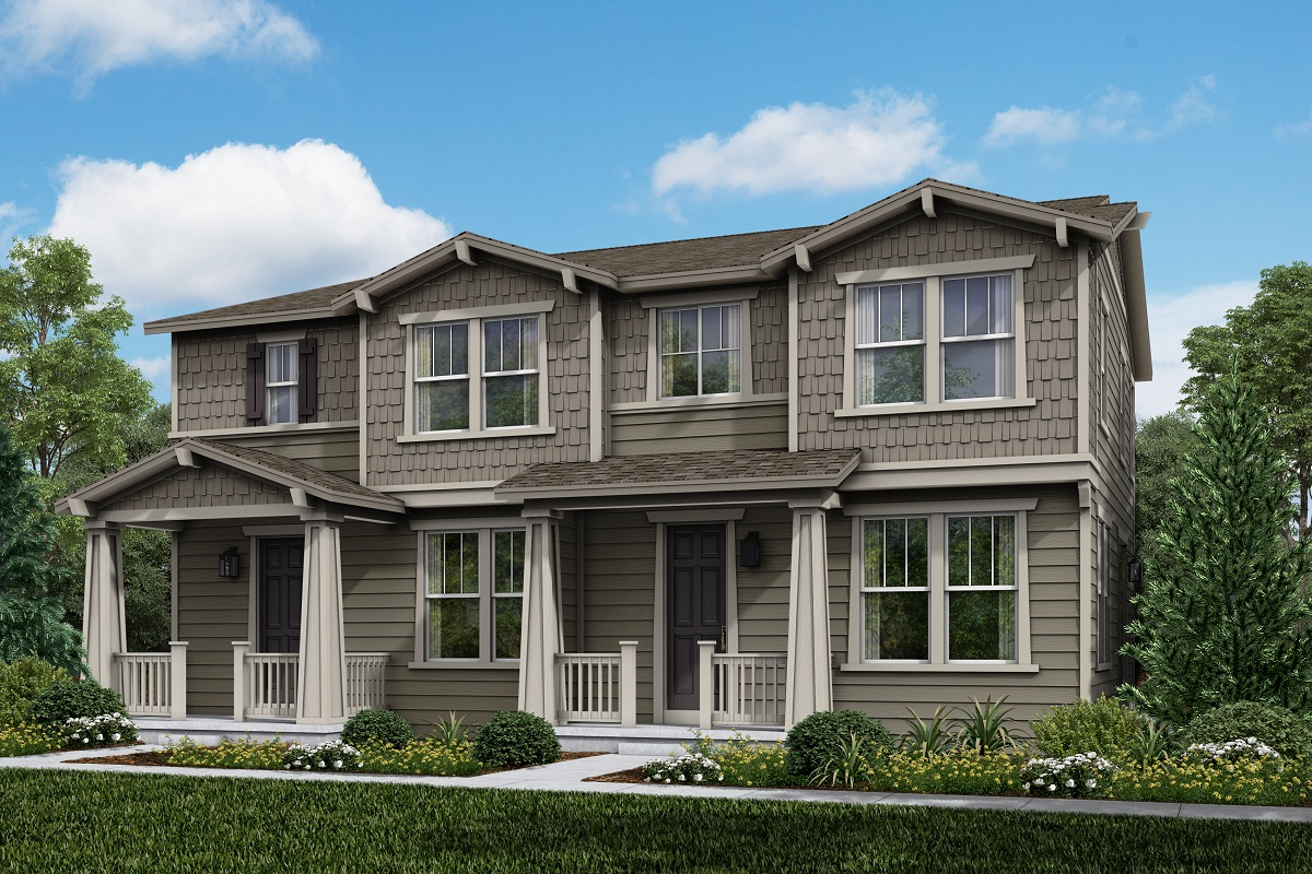 New Homes in Longmont, CO - Plan 1754 & Plan 1671 Elevation 4A