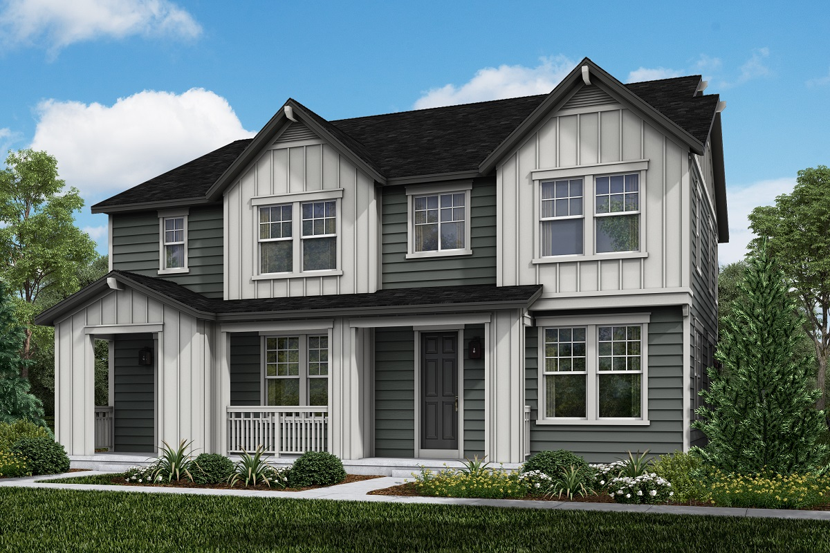 New Homes in Longmont, CO - Plan 1754 & Plan 1671 Elevation 4B