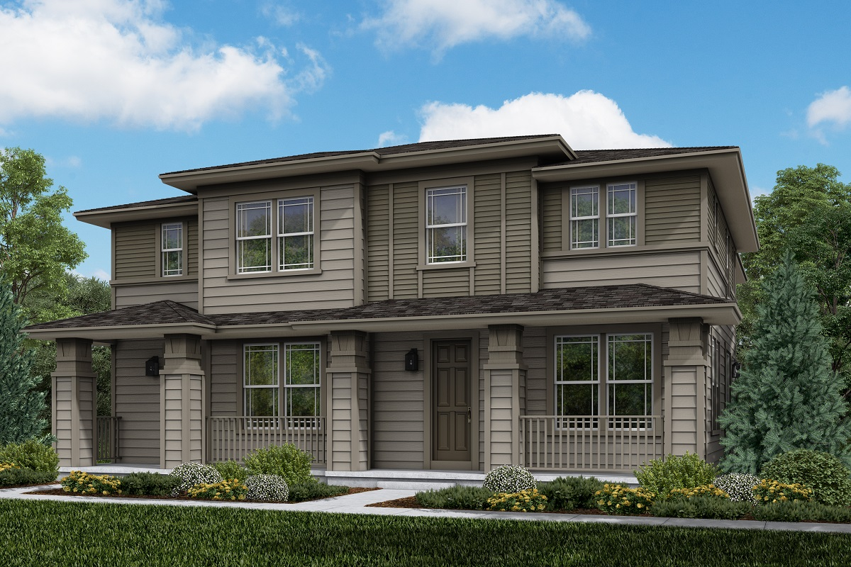 New Homes in Longmont, CO - Plan 1754 & Plan 1671 Elevation 4C