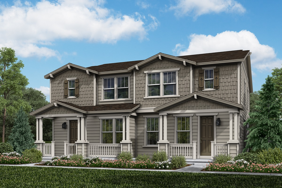 New Homes in Longmont, CO - Plan 1754 & Plan 1754 Elevation 5A