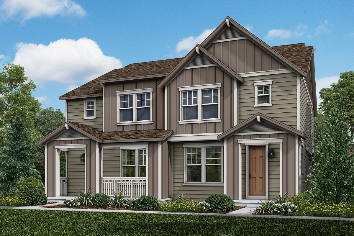 New Homes in Longmont, CO - Plan 1754 & Plan 1754 Elevation 5B