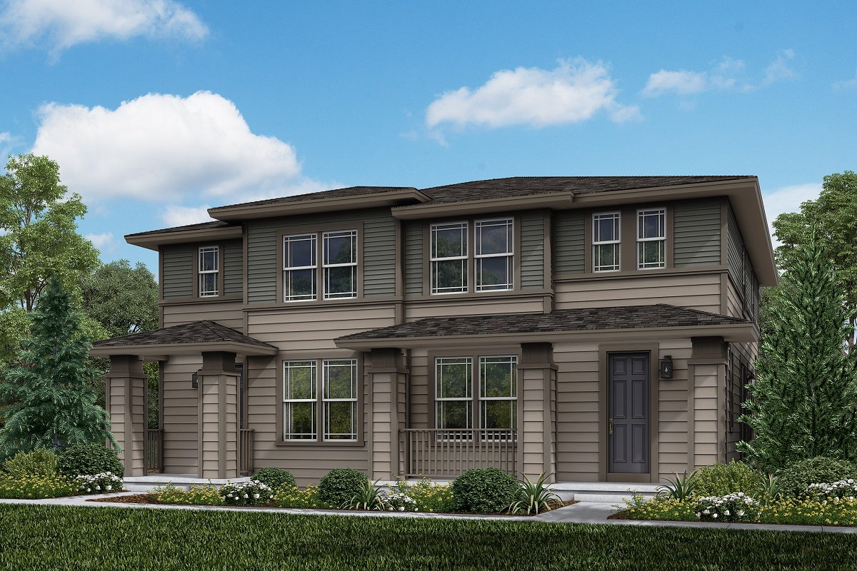 New Homes in Longmont, CO - Plan 1754 & Plan 1754 Elevation 5C