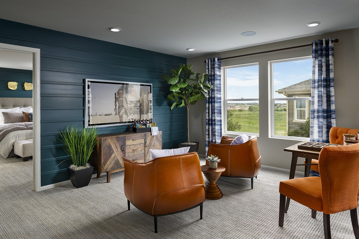 New Homes in Aurora, CO - Sky Ranch Plan 2502 Modeled Loft
