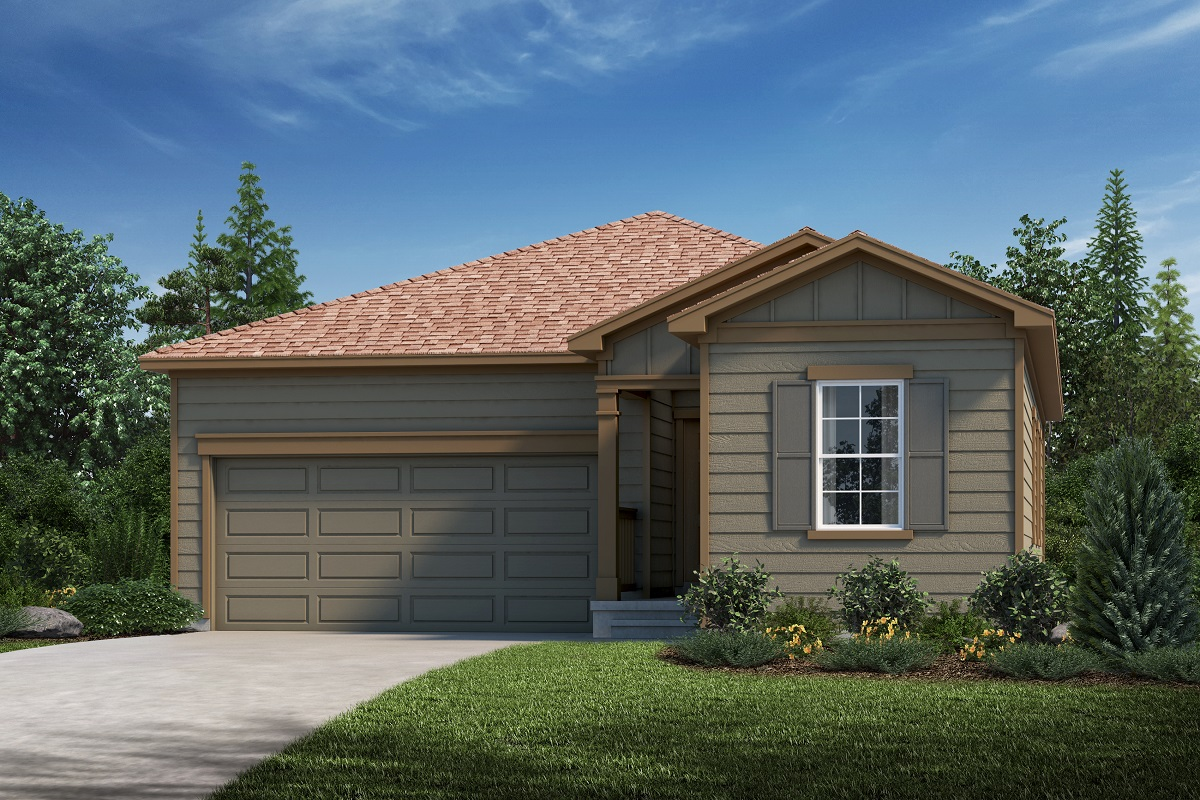 New Homes in Aurora, CO - Plan 1382 Elevation A