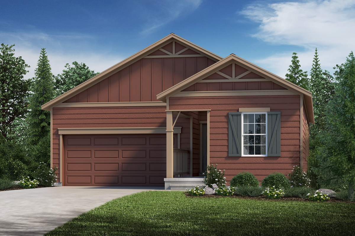 New Homes in Aurora, CO - Sky Ranch Plan 1382 Elevation B
