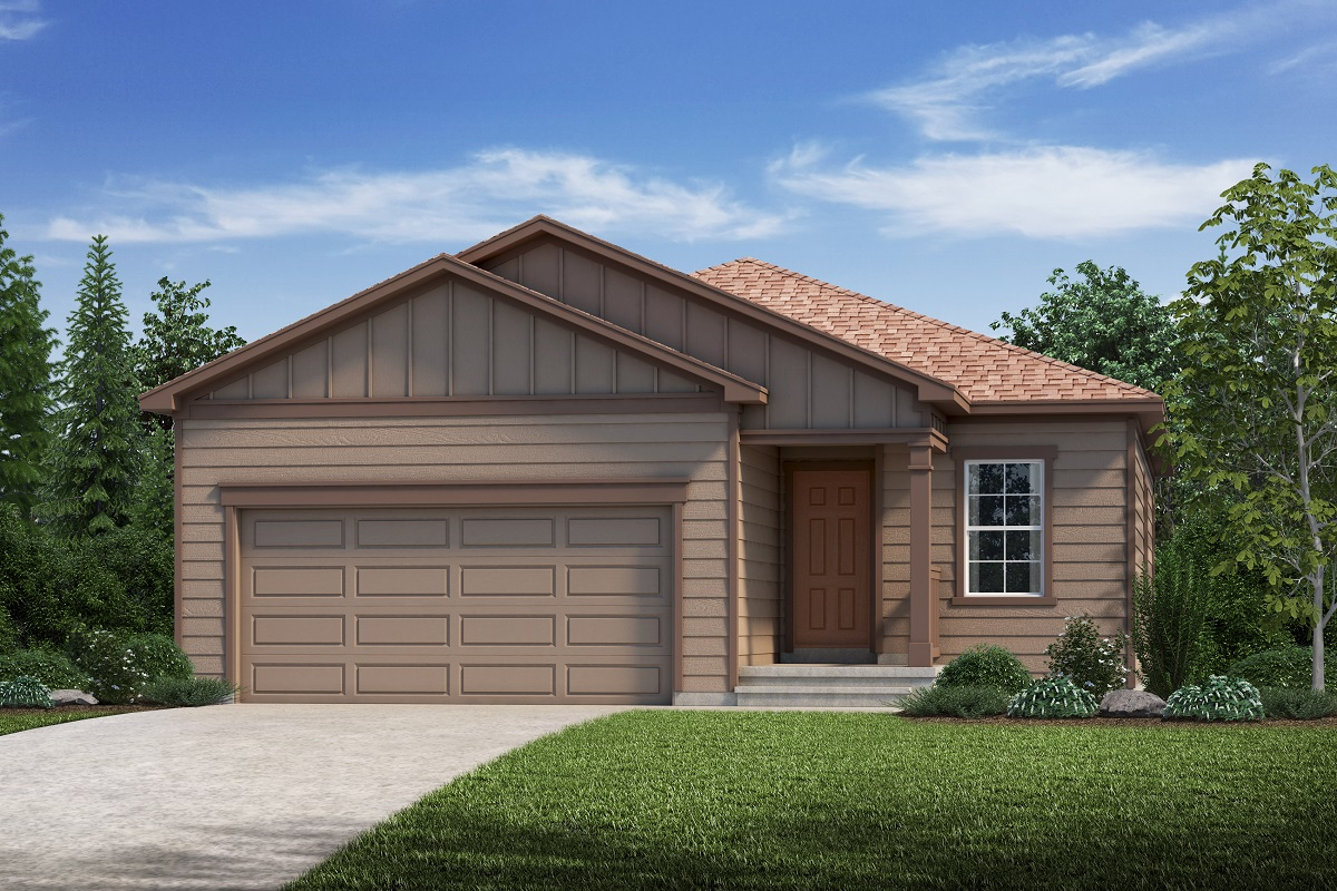 New Homes in Aurora, CO - Plan 1532 Elevation A