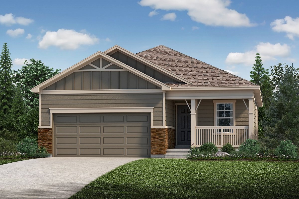 New Homes in Aurora, CO - Plan 1532 Elevation B