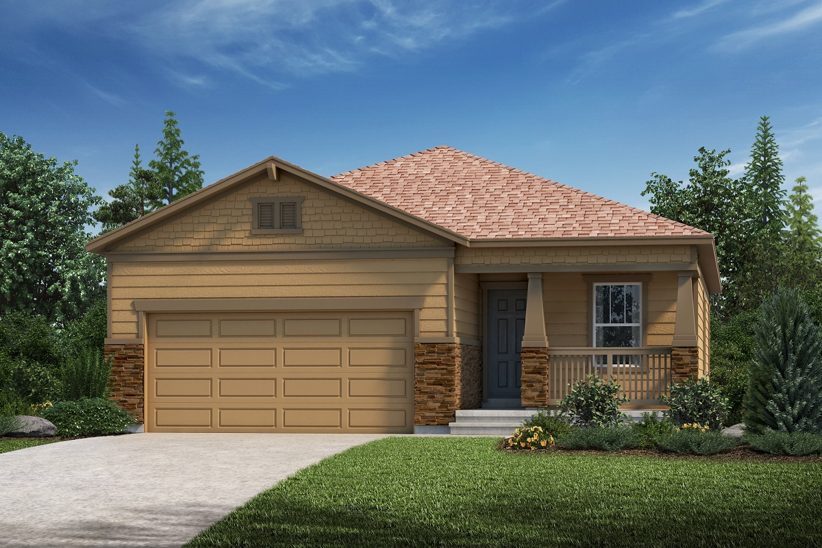 New Homes in Aurora, CO - Sky Ranch Plan 1532 Elevation C